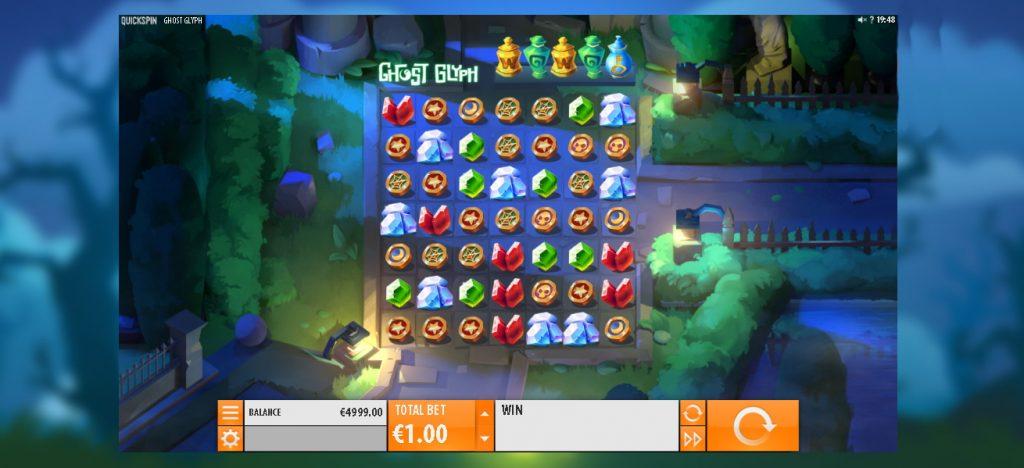 Ghost Glyph Slot Look & Feel