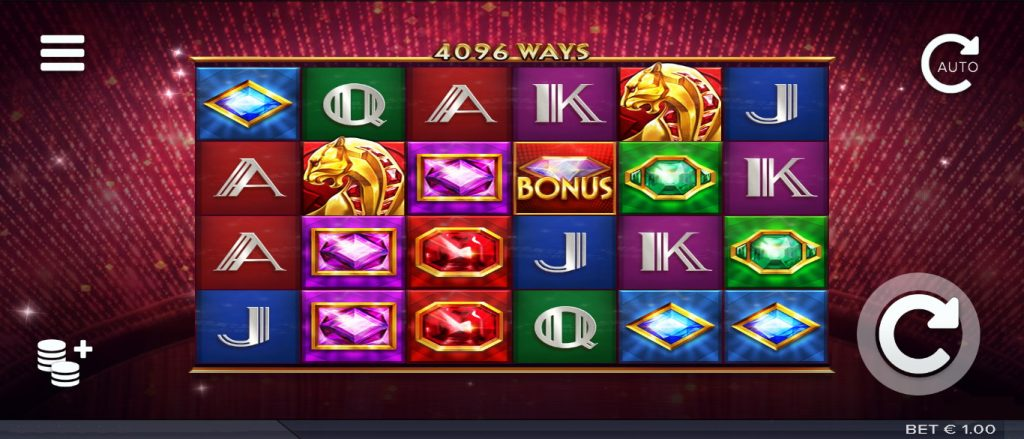 The Grand Galore Slot Look & Feel