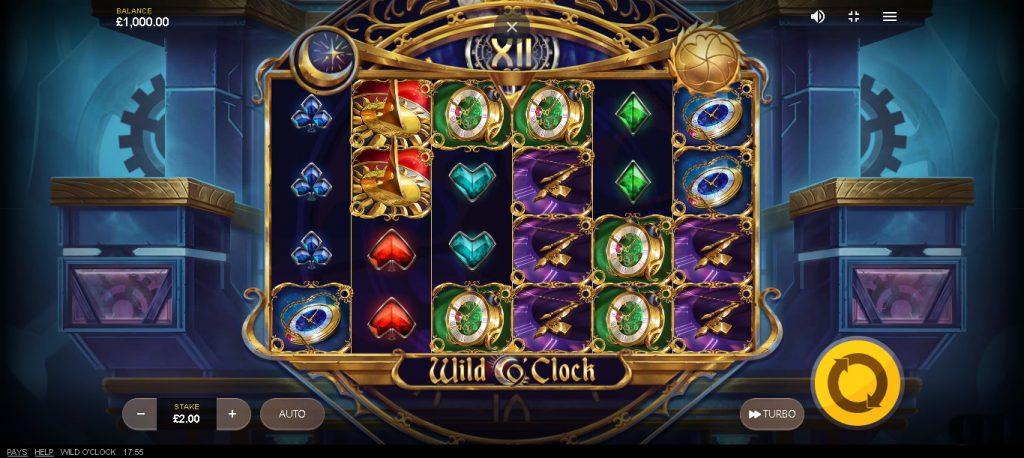 Wild O'Clock Slot Look & Feel